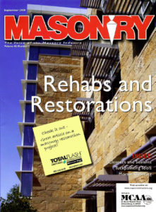 Masonry Magazine - Rehabs and Restorations