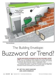 The Building Envelope - Buzzword or Trent?