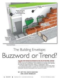 El sobre del edificio - ¿Palabra de moda o Trento?