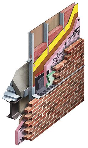 CavityComplete Steel Stud Wall