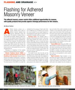 pro masonry guide adhered masonry flashing