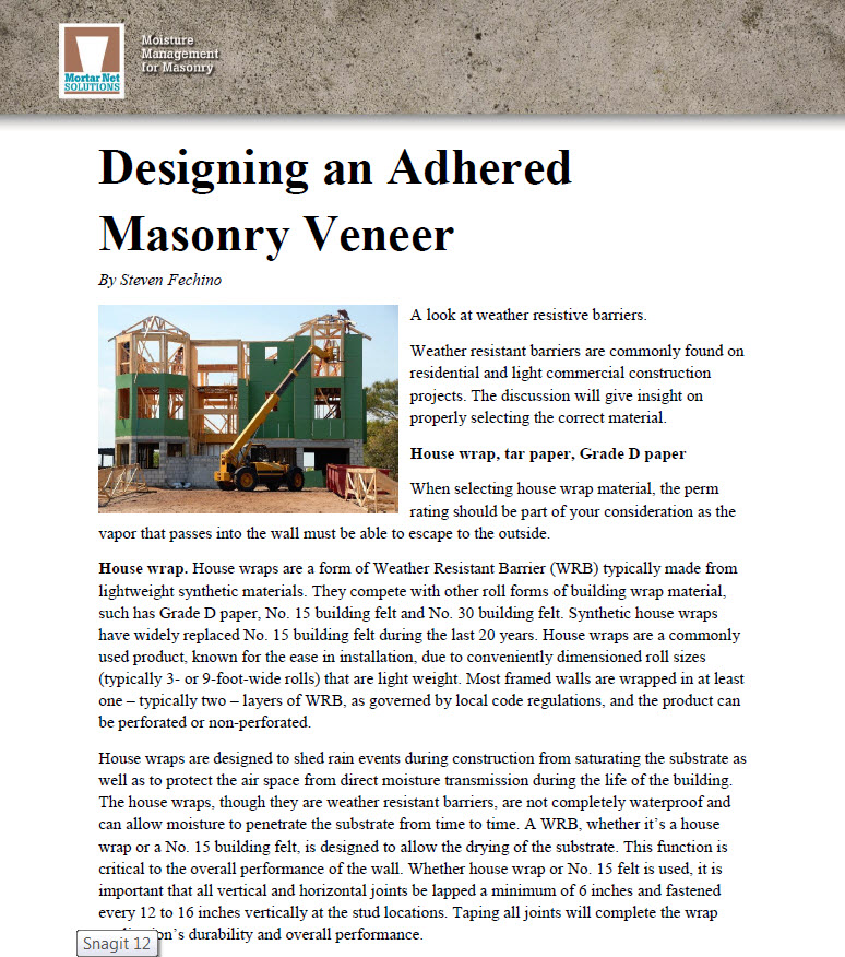 designing-adhered-masonry-veneer-part-2 - Mortar Net