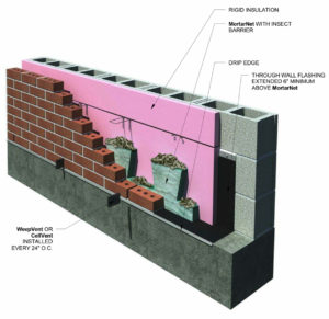 drainage Archives - Mortar Net Solutions Mortar Net Solutions