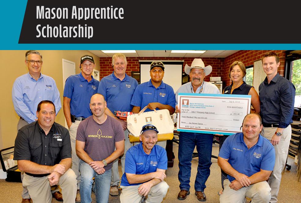 mason apprentice scholarship