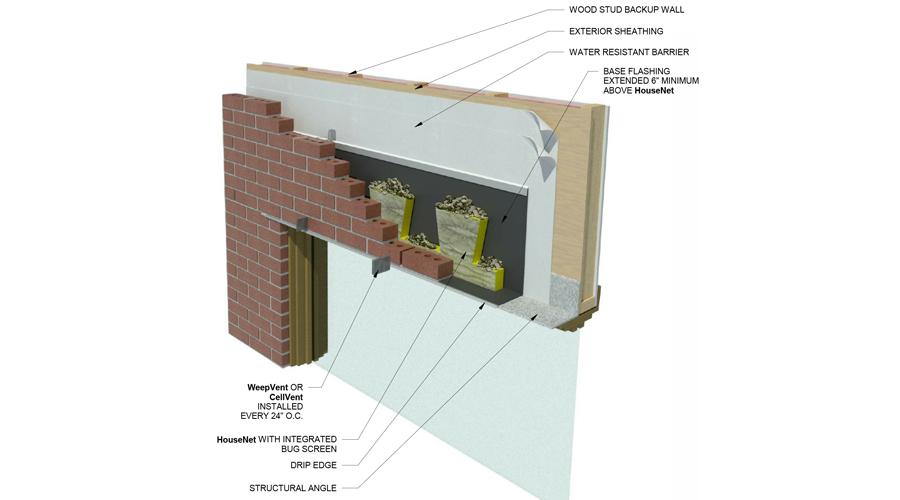 HouseNet Window Head Detail