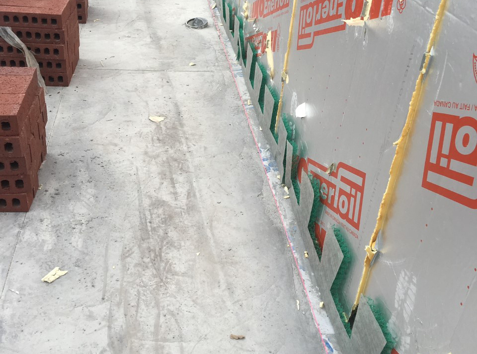 MortarNet with Insect Barrier Install